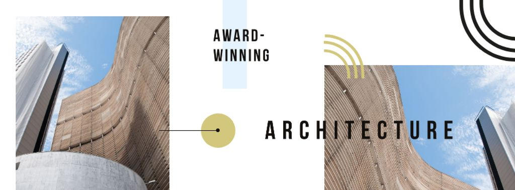 Modern city buildings — Modelo de projeto