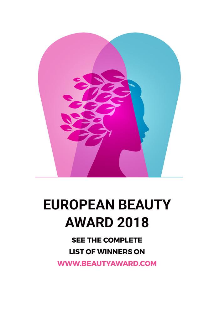European beauty award 2018 — Créer un visuel