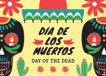 Dia De Los Muertos Announcement