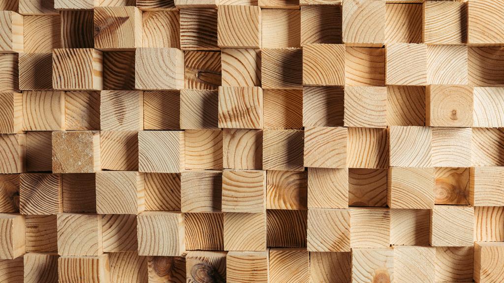 Small wooden Cubes — Modelo de projeto