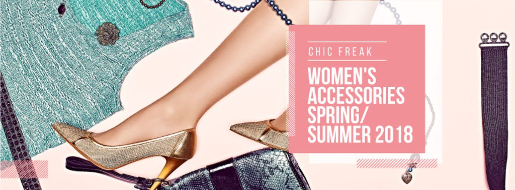 New collection of female accessories poster — Create a Design