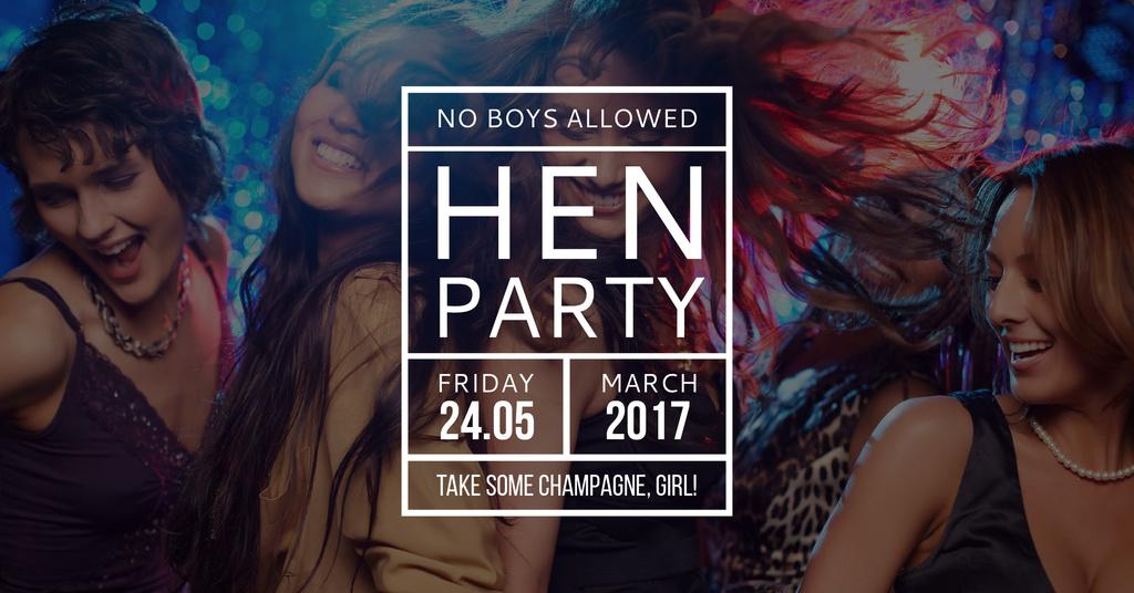 Hen party for girls — ein Design erstellen
