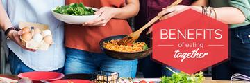 benefits of eating together poster
