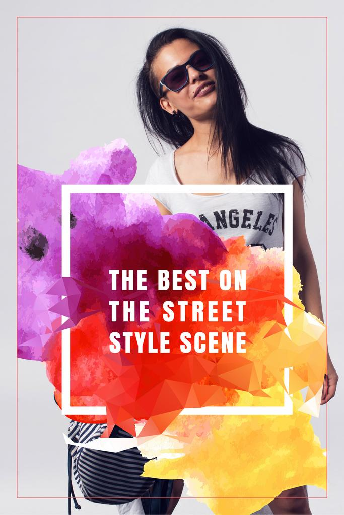 The best on the street style scene poster — Create a Design