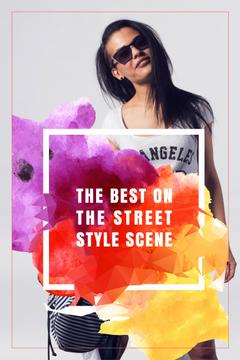 The best on the street style scene poster