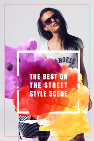 Ontwerpsjabloon van Pinterest van The best on the street style scene