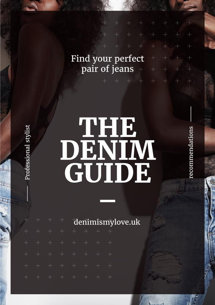 Denim guide poster — Create a Design