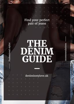 Denim guide poster