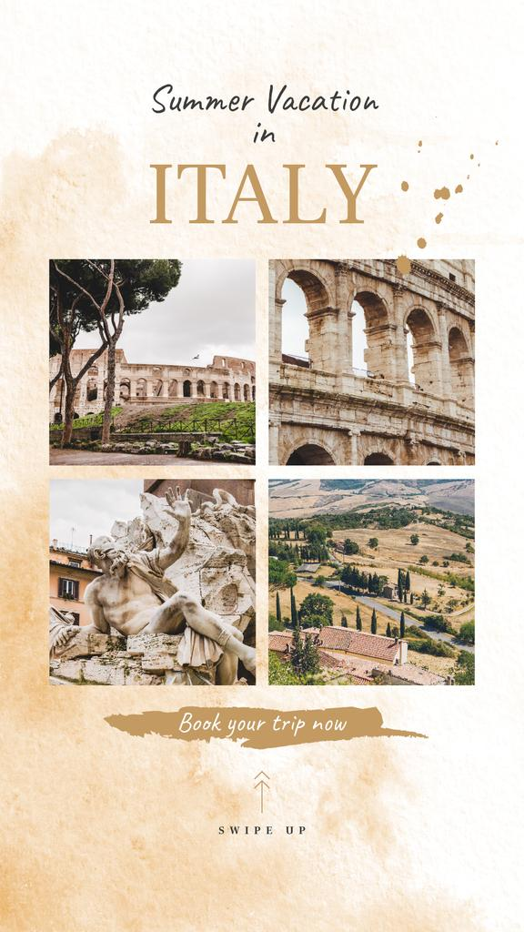 Rome city travelling spots — Maak een ontwerp