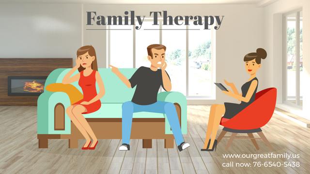 Template di design Family Therapy Center Ad Full HD video