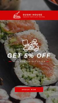 Sushi Delivery Fresh Seafood Maki