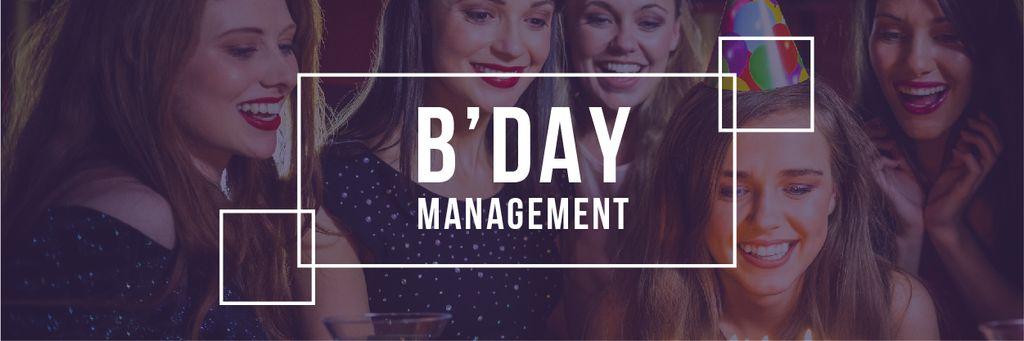 Birthday party Invitation — Modelo de projeto