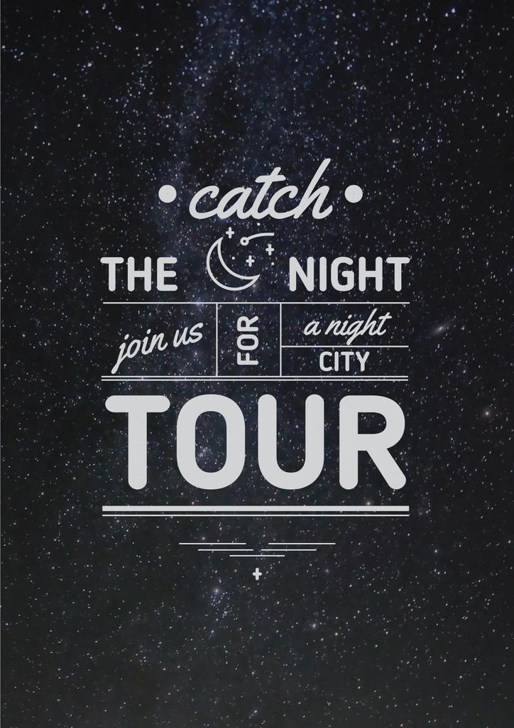 Night city tour Offer — Crea un design