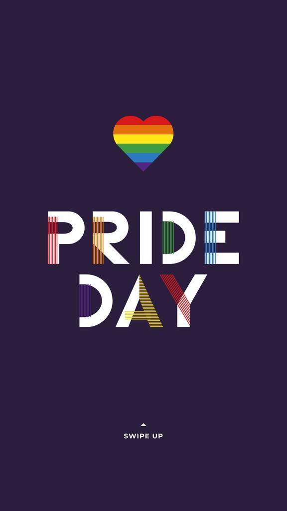 LGBT pride Day Greeting — Modelo de projeto