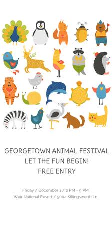 Georgetown Animal Festival Graphic – шаблон для дизайну