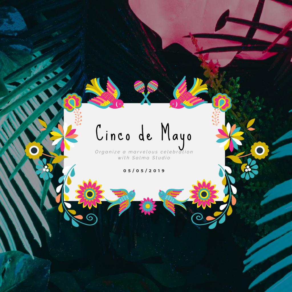 Cynco de Mayo Mexican holiday — Maak een ontwerp