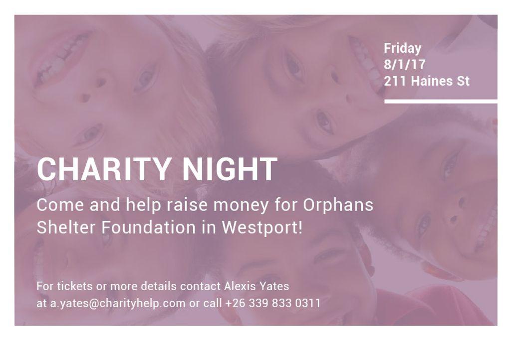 Corporate Charity Night — ein Design erstellen