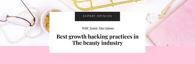 Plantilla de diseño de Beauty Industry Business tips Twitter