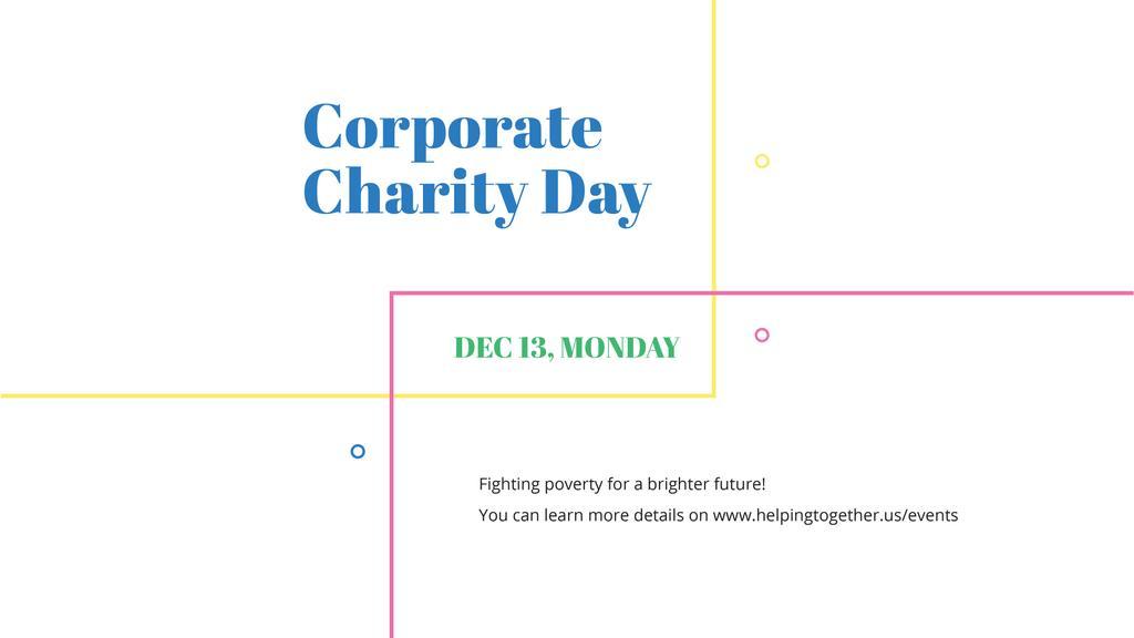 Corporate Charity Day — Создать дизайн