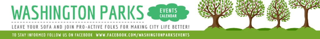 Events in Washington parks —デザインを作成する