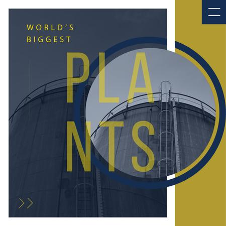 Template di design Large industrial containers Instagram