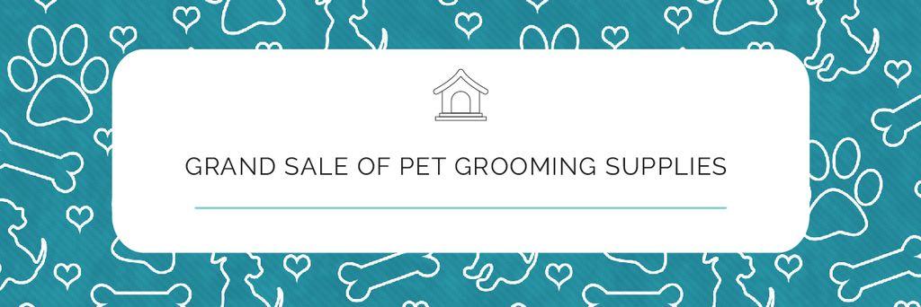 Grand sale of pet grooming supplies — Створити дизайн