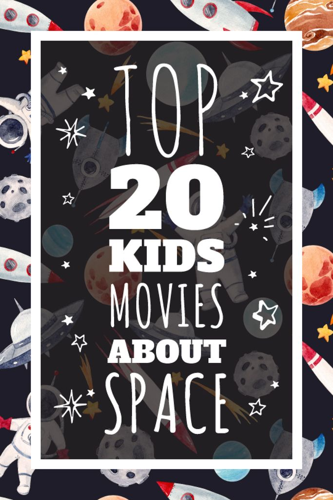 Kids playing in space — Maak een ontwerp