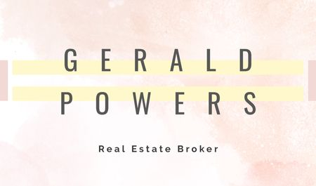 Modèle de visuel Real Estate Broker Services Offer - Business card