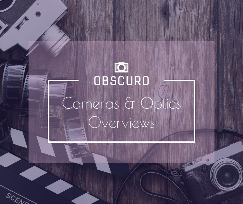 Camera and Optics Guide with film — Create a Design
