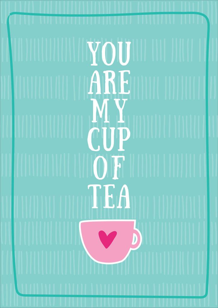 Cup of tea card — Crea un design