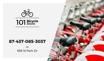 bicycle store card