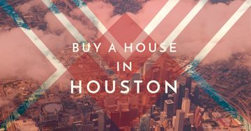 advertisement banner for real estate in Houston