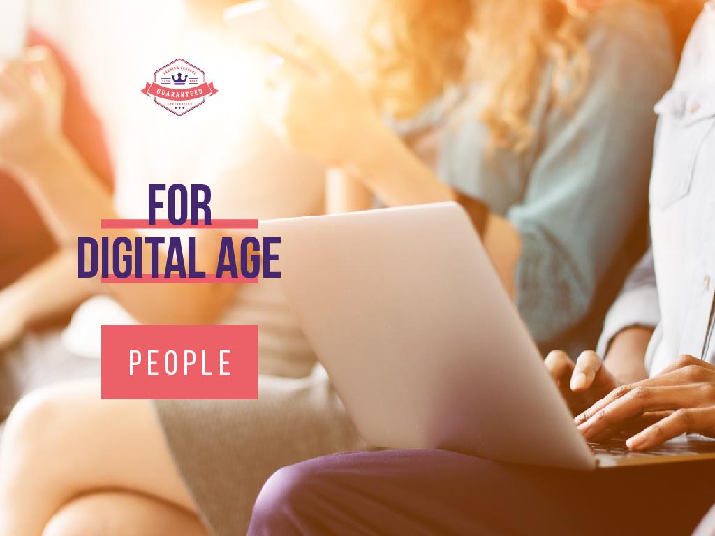 For digital age people — Crear un diseño