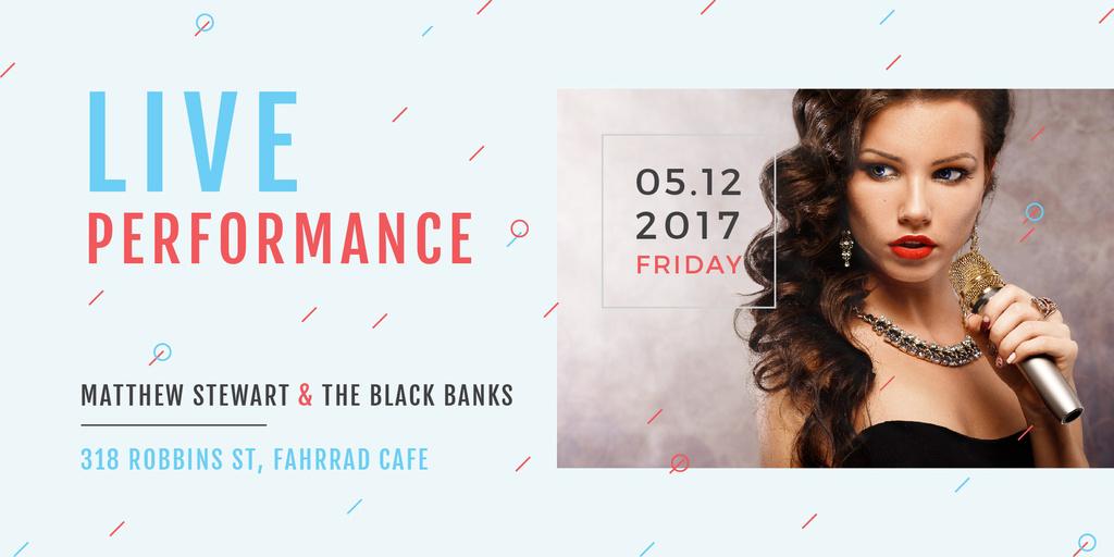 Matthew Stewart & The Black Banks live performance — Créer un visuel