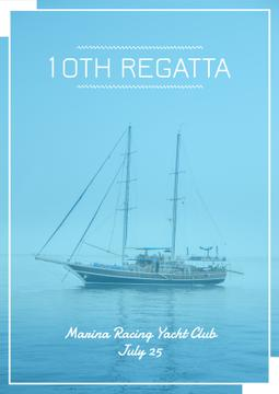 Regatta event announcement