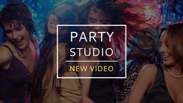 Party studio with new video