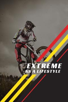 Extreme as a lifestyle poster