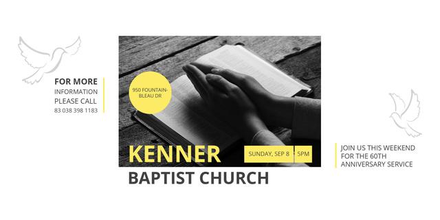 Kenner Baptist Church Image Modelo de Design