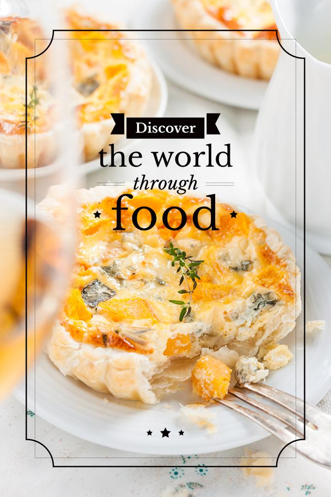 Discover the world through food — Створити дизайн