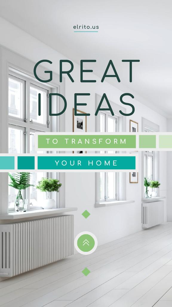 Modern Home Kitchen Interior in White — Crear un diseño
