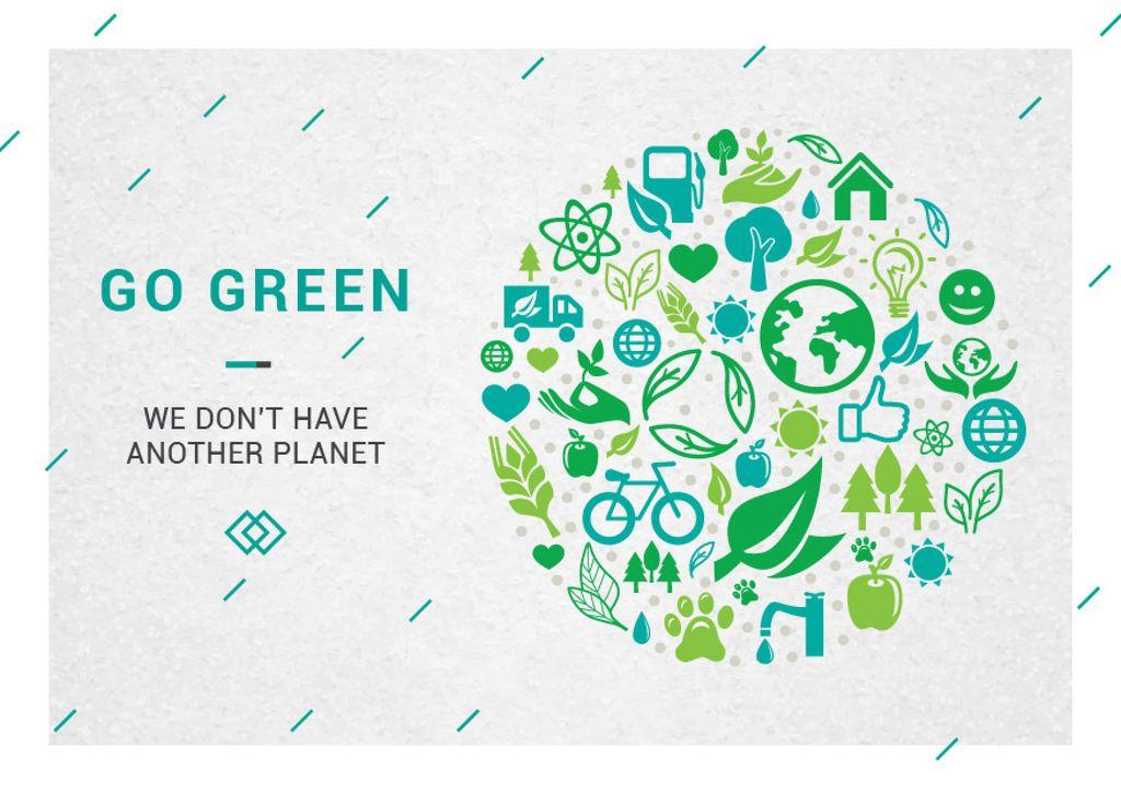 Citation about green planet - Bir Tasarım Oluşturun