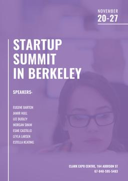 Startup Summit with Businesswoman