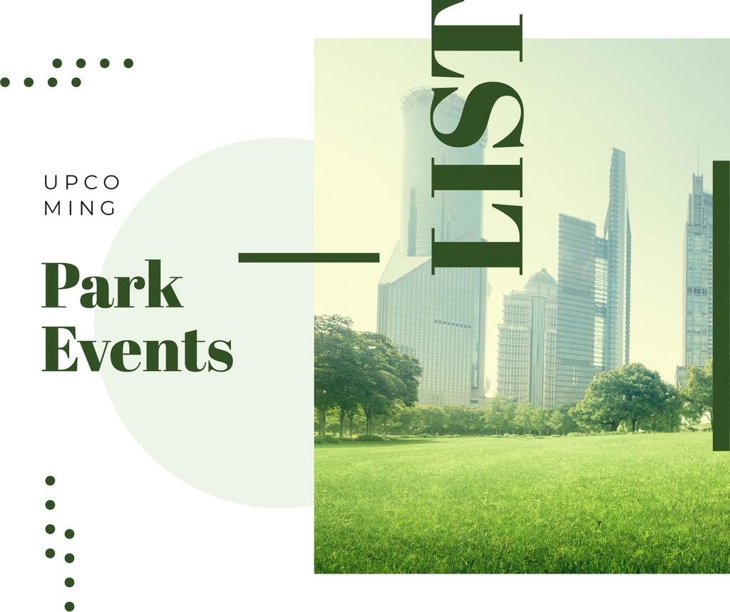 Green city Park view — Crear un diseño