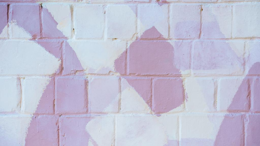Brick wall with spots of Pastel Colors — Maak een ontwerp