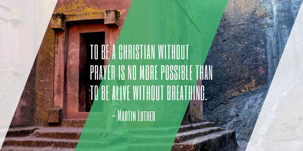 Religion citation about Christian faith — Modelo de projeto
