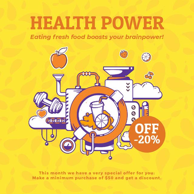 Health Factory Lifestyle Animated Post – шаблон для дизайна