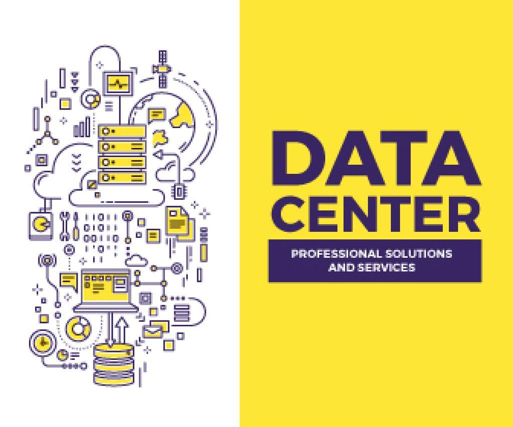 Data center poster — Créer un visuel