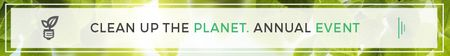 Plantilla de diseño de Clean up the Planet Annual event Leaderboard