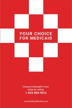 Medicaid clinic Ad in Red