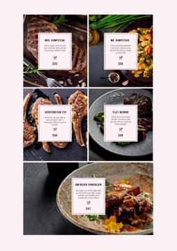 Meat Steaks variety